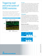 Rohde&Schwarz_Triggering read and write cycles of DDR3 memories