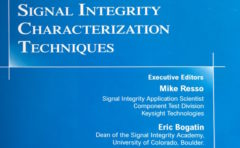 Signal Integrity Characterization Techniques Book Cover