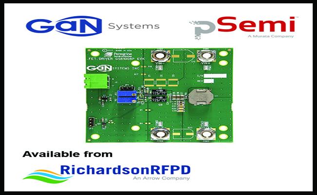 Gan-systems-psemi-gs61008p-evbhf_pr_photo