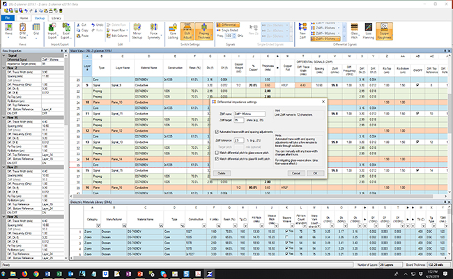 Z-planner-20191-automated-impedance-matching