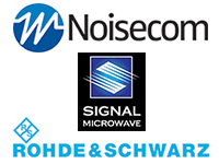 Noisecom, R&S USA, Signal Microwave